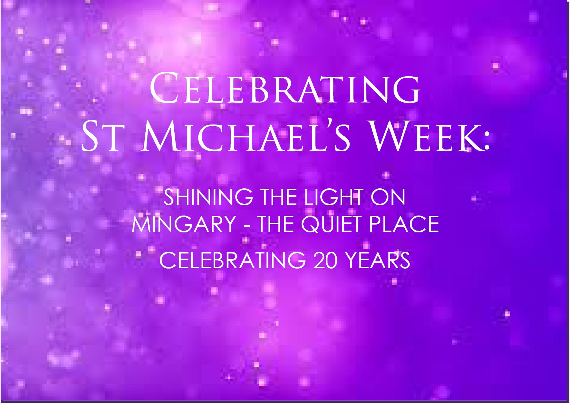 St Michael's Week 2019 Banner