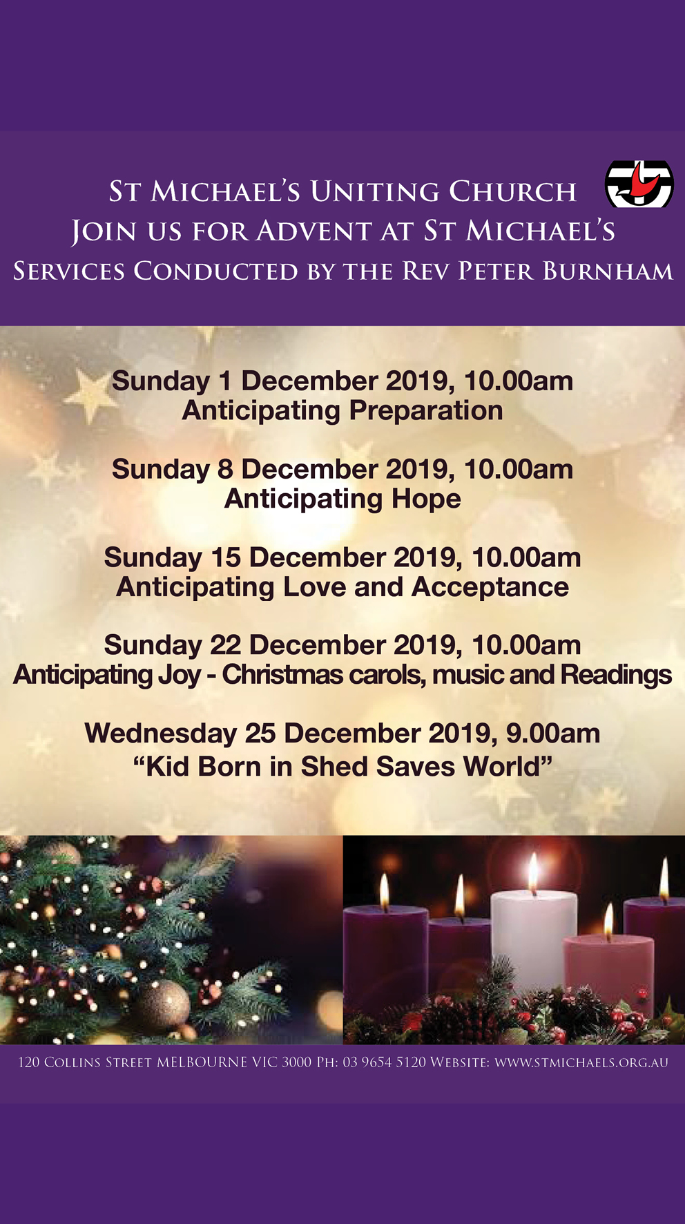Join us for Advent Christmas 2019